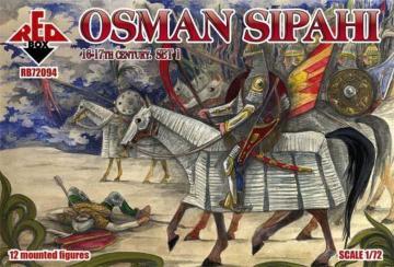 Osman Sipahi, 16-17th century, set 1 · RDB 72094 ·  Red Box · 1:72