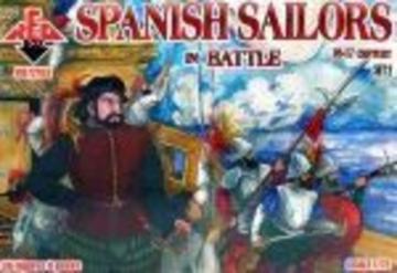 Spanish Sailors in Battle, 16-17th century · RDB 72103 ·  Red Box · 1:72