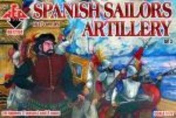 Spanish Sailor Artillery,16-17th century · RDB 72104 ·  Red Box · 1:72