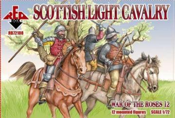Scottish light cavalry,War o.the Roses12 · RDB 72108 ·  Red Box · 1:72
