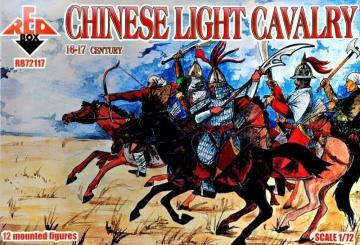 Chinese light cavalry,16-17th century · RDB 72117 ·  Red Box · 1:72