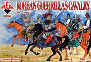 Korean guerrillas cavalry,16-17th century · RDB 72123 ·  Red Box · 1:72