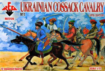 Ukrainian Cossack cavalry - 16th century - Set 2 · RDB 72126 ·  Red Box · 1:72