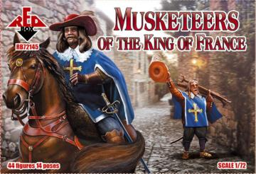 Musketeers of the King of France · RDB 72145 ·  Red Box · 1:72