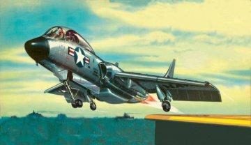 F-7U-3 Cutlass · RE 00019 ·  Revell · 1:60