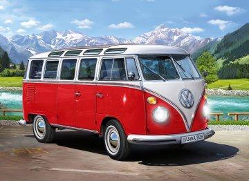 Volkswagen T1 - Samba Bus - Technik · RE 00455 ·  Revell · 1:16