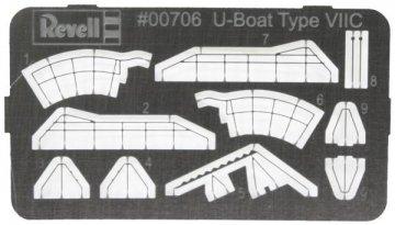 Fotoätzteile - U-Boot (05093) · RE 00706 ·  Revell · 1:350