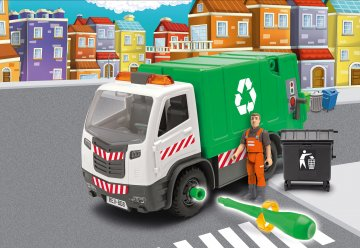 Garbage Truck · RE 00808 ·  Revell · 1:20