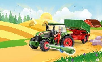 Traktor & Anhänger mit Figur · RE 00817 ·  Revell · 1:20