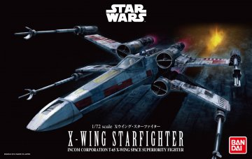 X-Wing Starfighter · RE 01200 ·  Revell · 1:72