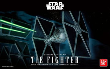 TIE Fighter · RE 01201 ·  Revell · 1:72