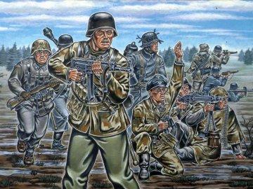 Deutsche Infanterie, WWII · RE 02502 ·  Revell · 1:72