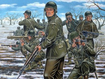 US-Infanterie, WWII · RE 02503 ·  Revell · 1:72