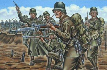 Deutsche Infanterie, WWI · RE 02504 ·  Revell · 1:72