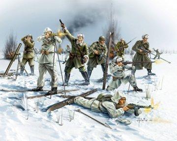 Sibirische Schützen, WWII · RE 02516 ·  Revell · 1:72