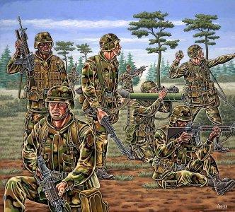 US NATO Truppen (modern) · RE 02520 ·  Revell · 1:72