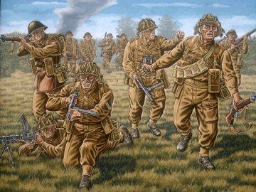 Britische Infanterie WWII · RE 02523 ·  Revell · 1:72