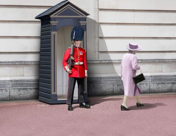 Queen´s Guard · RE 02800 ·  Revell · 1:16