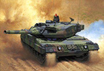 Leopard 2 A6 · RE 03060 ·  Revell · 1:35