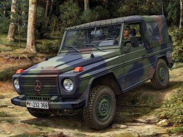 Lkw gl leicht `Wolf` short wheelbase · RE 03069 ·  Revell · 1:35