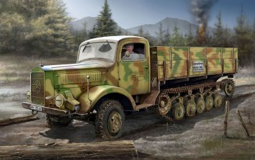 Maultier L4500R · RE 03091 ·  Revell · 1:35