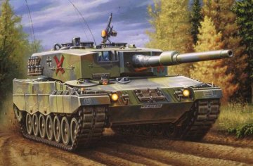 Leopard 2 A4 · RE 03103 ·  Revell · 1:72