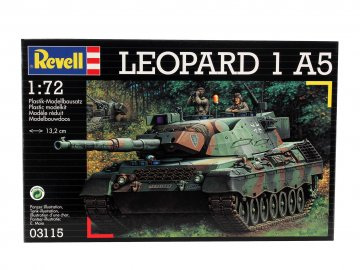 Leopard 1 A5 · RE 03115 ·  Revell · 1:72