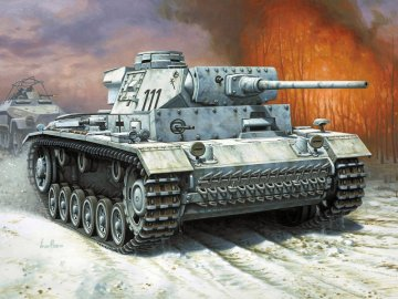 Panzer III Ausf. L · RE 03133 ·  Revell · 1:72
