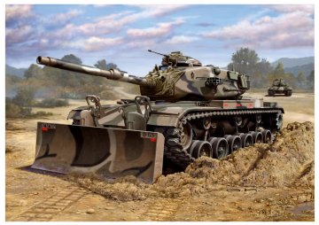 M60 A3 & M9 Bulldozer Kit · RE 03175 ·  Revell · 1:72