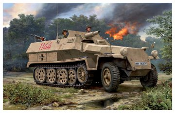 Sd.Kfz. 251/9 Ausf. C · RE 03177 ·  Revell · 1:72