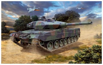 Leopard 2 A6M · RE 03180 ·  Revell · 1:72