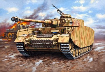 PzKpfw. IV Ausf.H · RE 03184 ·  Revell · 1:72
