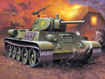 T-34/76 Modell 1940 · RE 03212 ·  Revell · 1:76