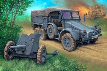 Kfz. 70 Krupp Protze & 3,7 cm Pak · RE 03218 ·  Revell · 1:76