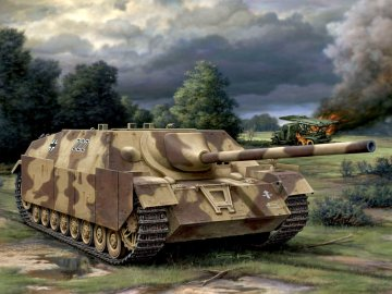 Deutscher Jagdpanzer IV L/70 · RE 03230 ·  Revell · 1:76