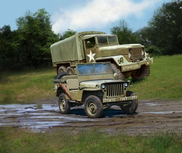 M34 Tactical Truck & Off-Road · RE 03260 ·  Revell · 1:35