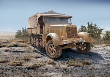 Sd.Kfz. 7 (Late Production) · RE 03263 ·  Revell · 1:72