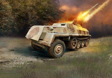 15 cm Panzerwerfer 42 auf sWS · RE 03264 ·  Revell · 1:72