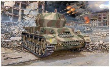 Flakpanzer IV Wirbelwind (2cm) · RE 03267 ·  Revell · 1:72
