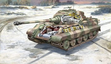 TIGER II Ausf. B - Full Interior - Limted Edition · RE 03275 ·  Revell · 1:35