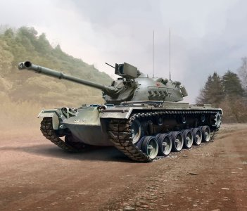 M48 A2CG · RE 03287 ·  Revell · 1:35