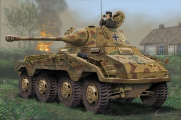 Sd.Kfz. 234/2 Puma · RE 03288 ·  Revell · 1:76