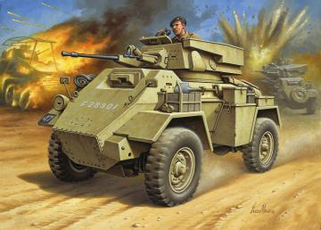 Humber Mk.II · RE 03289 ·  Revell · 1:76
