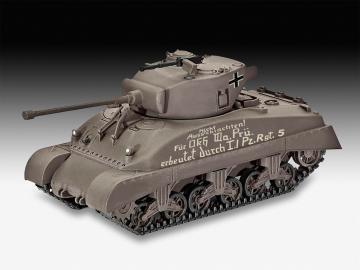 Sherman M4A1 · RE 03290 ·  Revell · 1:72