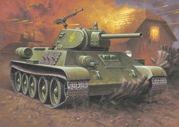 T-34/76 Modell 1940 · RE 03294 ·  Revell · 1:76