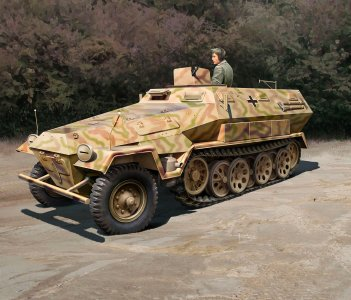 Sd.Kfz. 251/1 Ausf.A · RE 03295 ·  Revell · 1:35