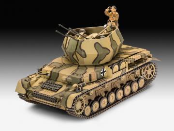Flakpanzer IV Wirbelwind · RE 03296 ·  Revell · 1:35