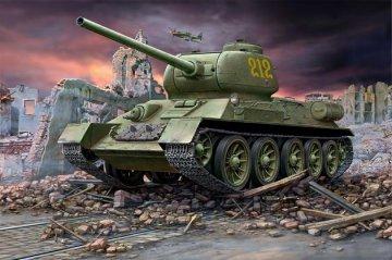 T-34/85 · RE 03302 ·  Revell · 1:72