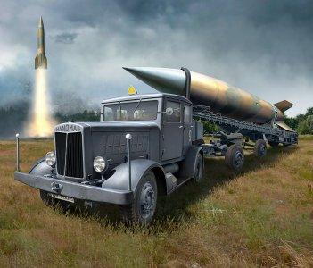 SS-100 Gigant + Transporter + V2 · RE 03310 ·  Revell · 1:72
