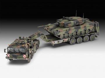 SLT 50-3 Elefant + Leopard · RE 03311 ·  Revell · 1:72